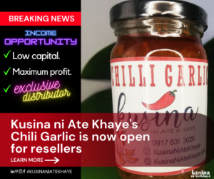 Kusina's Chili Garlic Open for Resellers